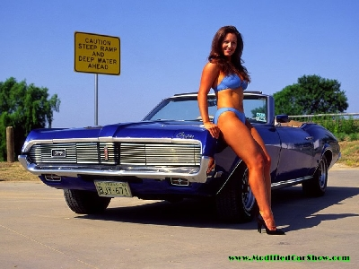 hot girls car wallpaper - muscle car hot girl - a photo on flickriver
