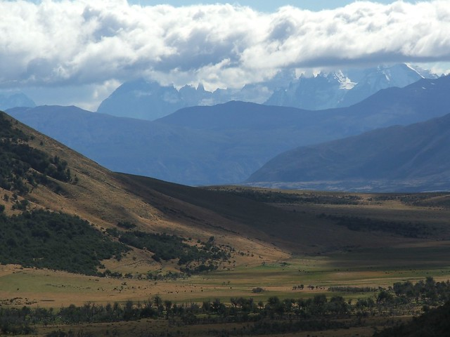 Paine Massif from Arroyo Picana