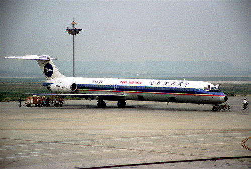 China Northern Airlines MD-82; B-2122, October 1998/ BSP