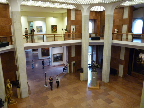buda castle national gallery interior