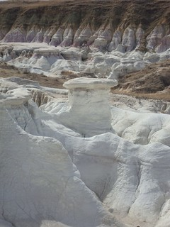 Tiny hoodoo, Paint Mines, Colorado