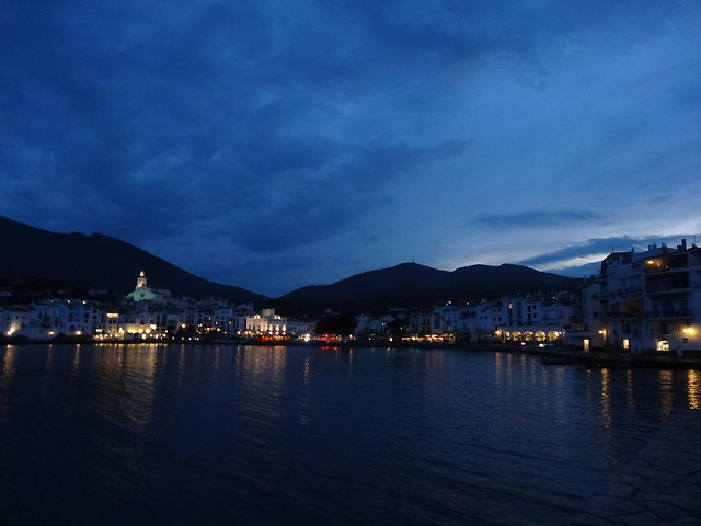 Cadaques at night