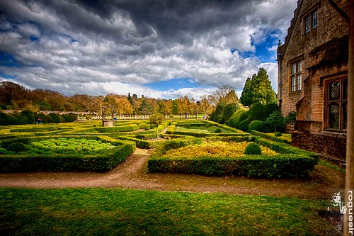 nottingham 2 abbey photoshop canon garden pro nik hdr newstead 50d cs5 efex