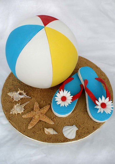 Beach Ball Cake | Flickr - Photo Sharing!