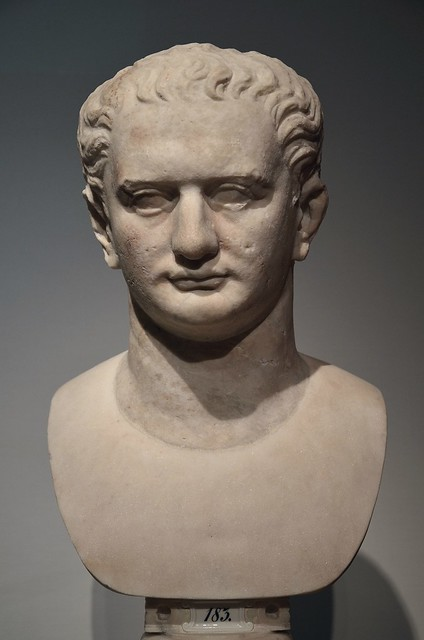 Bust of Emperor Domitian, Altes Museum Berlin
