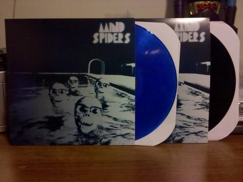 Mind Spiders - S/T LP - Blue Vinyl / 200 & Black Vinyl