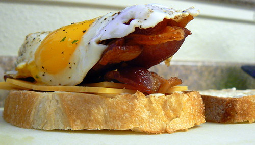 Bacon, egg, Cheese Sandwich