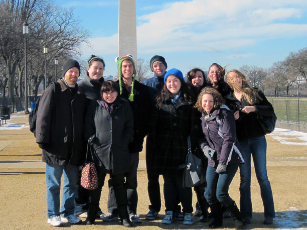 Wilkes Chamber Singers Visit DC