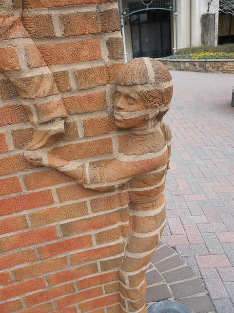 Cool Brick Wall : Really cool brick work flickr photo sharing