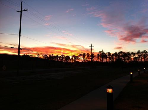 sunset gulfport