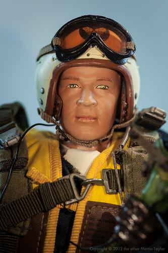 """F-86 Sabre Pilot, Col. Walker """"Bud"""" Mahurin"""