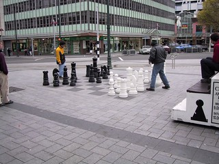 Cathedral Square Sueprsized Chess
