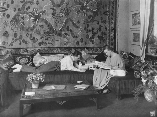 Fritz Lang & Thea von Harbou 1923 1924
