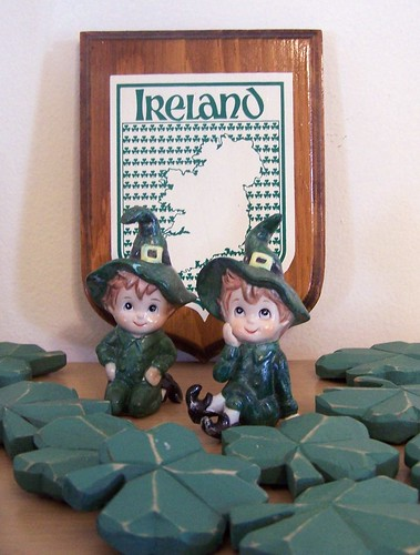 Vintage Lefton Leprechauns by MissConduct*