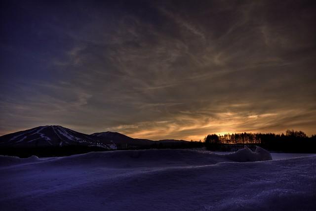 Photo:Night Skiing at APPI By:jasohill