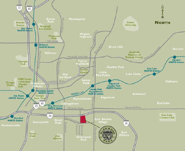 Glenwood Park Atlanta GA Map   Deborah Weiner   Flickr