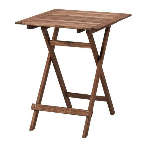 ikea outdoor bollo folding table flickr photo sharing. Black Bedroom Furniture Sets. Home Design Ideas