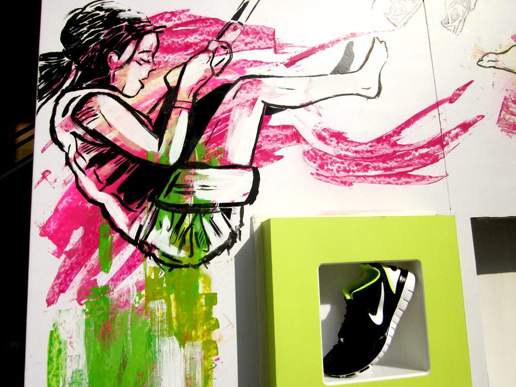 Alice Pasquini - Nike Store Milano