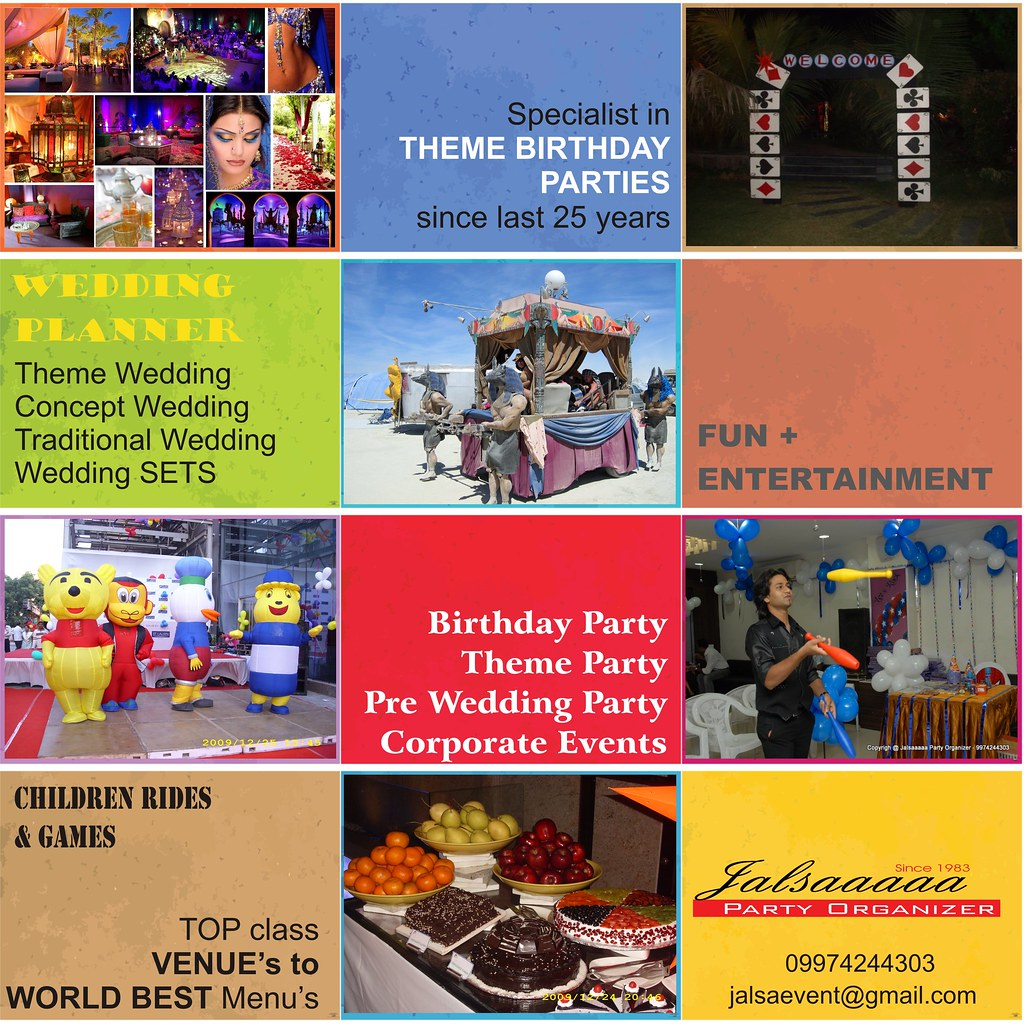 KIDS BIRTHDAY PARTY MENU : KIDS BIRTHDAY