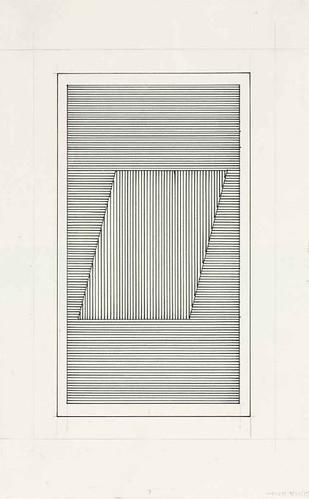 [ L ] Sol LeWitt - Parallelogram  (1979)