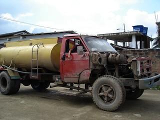 Ecuador-water-truck