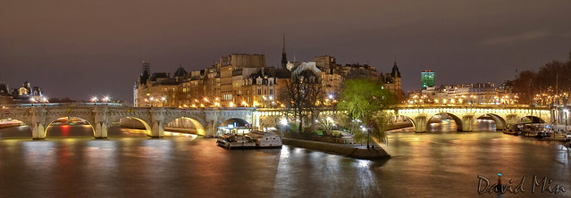 Paris, France - Ile de la Cité