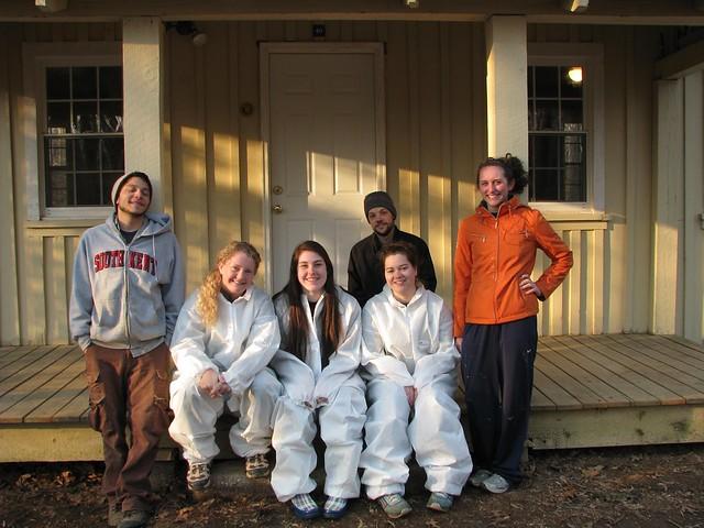 Alternative Spring Break Volunteers