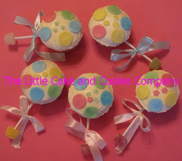 Baby Rattle Cake Pops