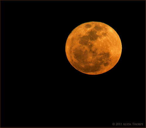 super moon by Alida's Photos