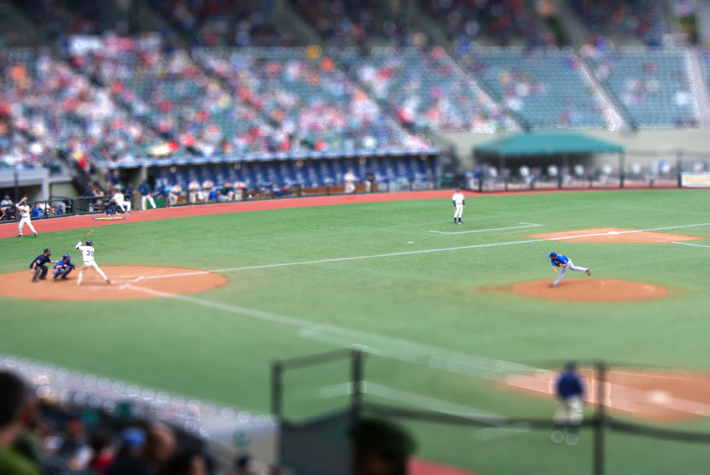 Baseball Tiltshift