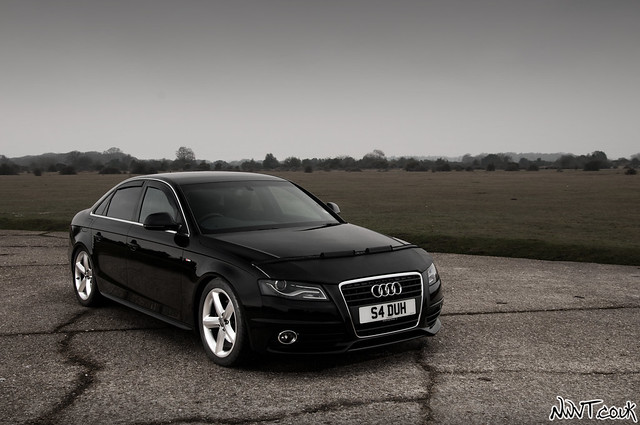 Black audi a4 s line flickr photo sharing for S line exterieurpaket a4