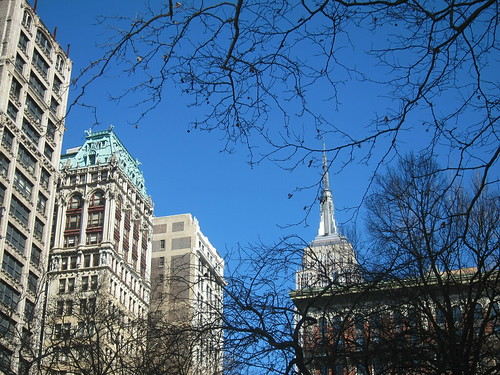 Empire State Building, view from Madison Sq. Park. NYC. Nueva York