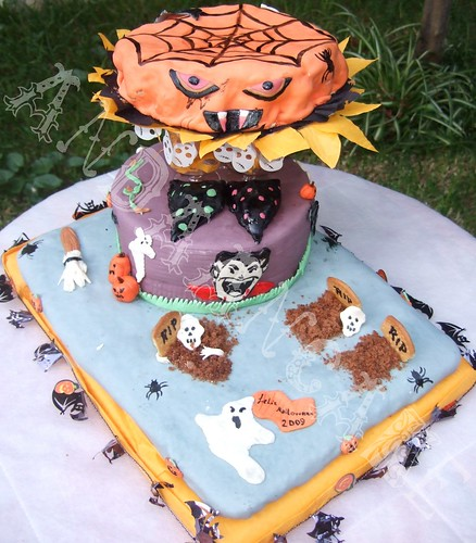 tarta halloween by Andaancake