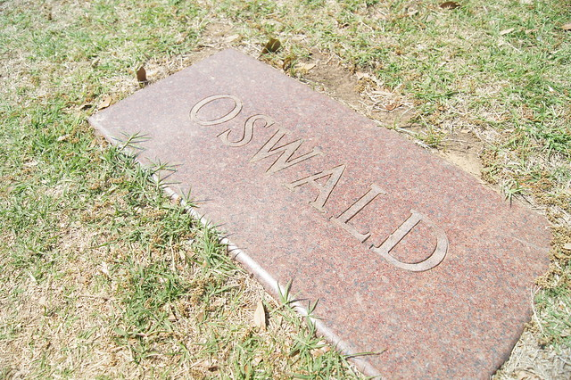 Lee Harvey Oswald's tombstone