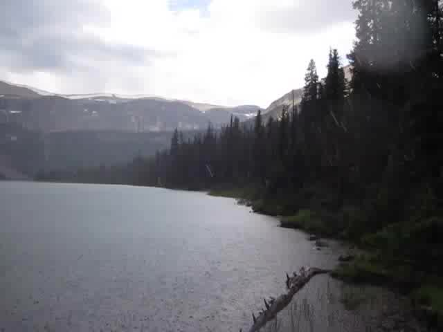 0708 Video of a summer rainstorm at Luellen Lake, from the JO19 Camp