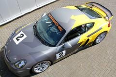 Carwrap Porsche Cayman GT4 Clubsport