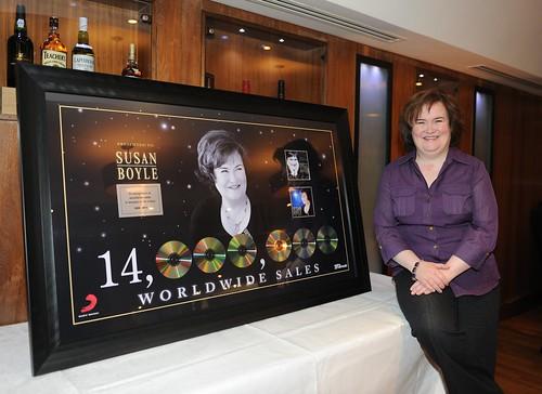 Susan Boyle: 14 millió eladott album 14 hónap alatt