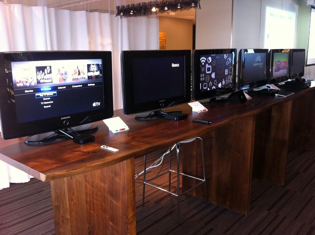 Apple TV, Roku, Boxee Box, Google TV, Xbox, Xfinity TV for