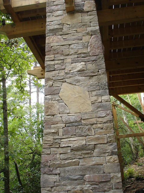 Stacked Stone Columns : Stacked stone column flickr photo sharing