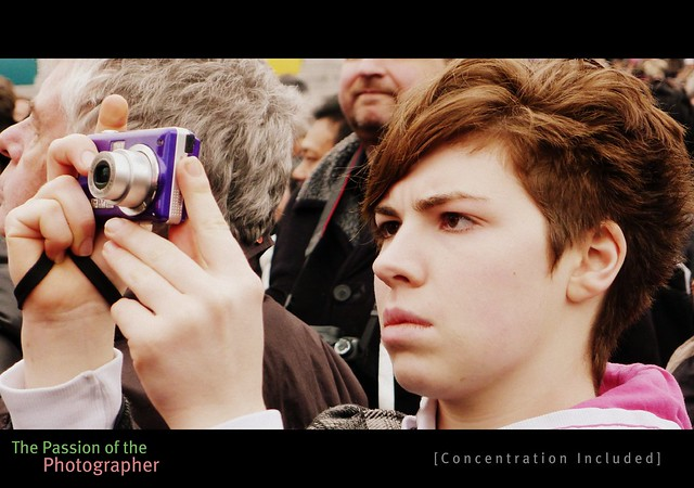 [ The Passion of the Photographer : Concentration Included ] @ The Chinese New Year Celebrations, Trafalgar Square, London, England, United Kingdom