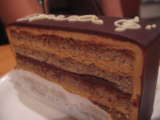 Hazelnut Opera Cake Recipe