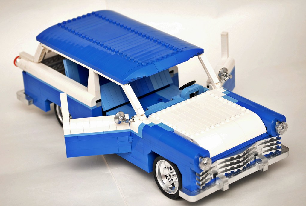 legogil 39 s 1955 ford ranch wagon lego technic mindstorms. Black Bedroom Furniture Sets. Home Design Ideas
