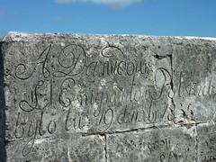 19th Century Graffiti at Fort Charlotte