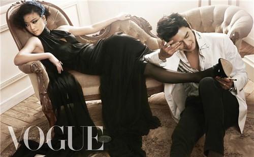 Hyun Bin & Tang Wei for Vogue (KR)