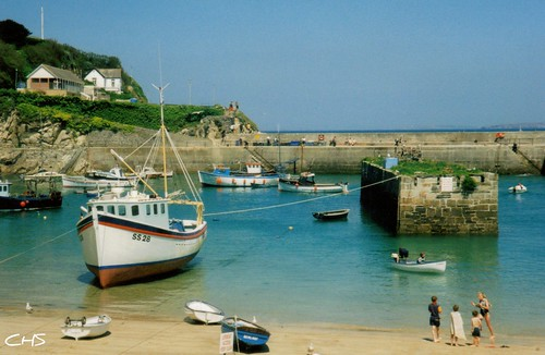 Newquay Harbour, June 1997 by Stocker Images