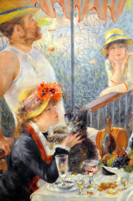 Pierre Auguste Renoir - Luncheon of the Boating Party at Phillips Collection Art Gallery Washington DC
