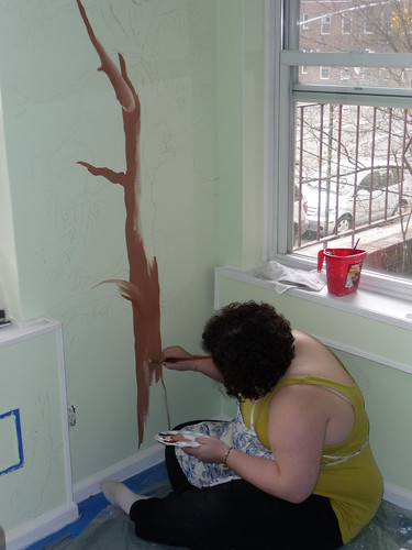 Painting the Baby Room