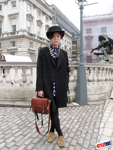 Styletube London Street Fashion Yu Masui In Louboutin London Fashion Week 39 S Street Fashion