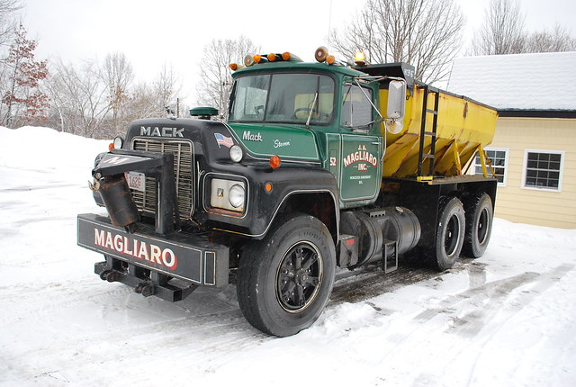Mack C Model Trucks : Mack c model an old truck still seeing use as a