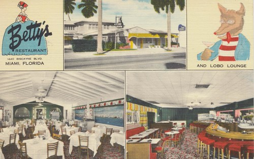 Betty's Restaurant and Lobo Lounge - Miami, Florida by What Makes The Pie Shops Tick?